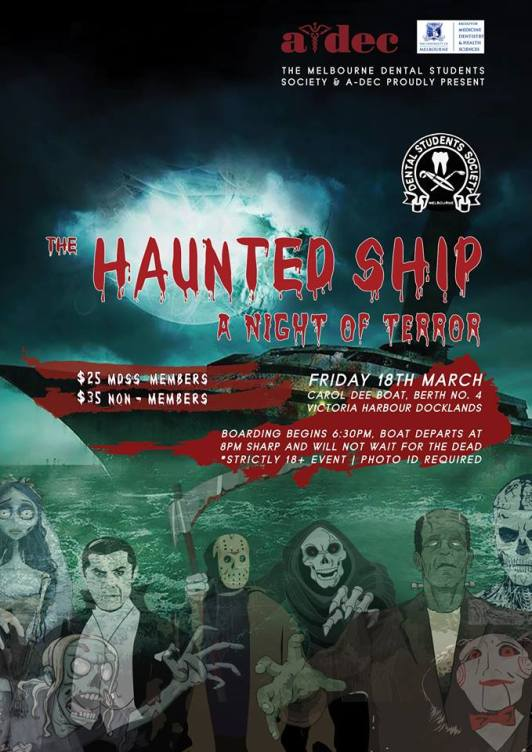 the haunted cruise mdss