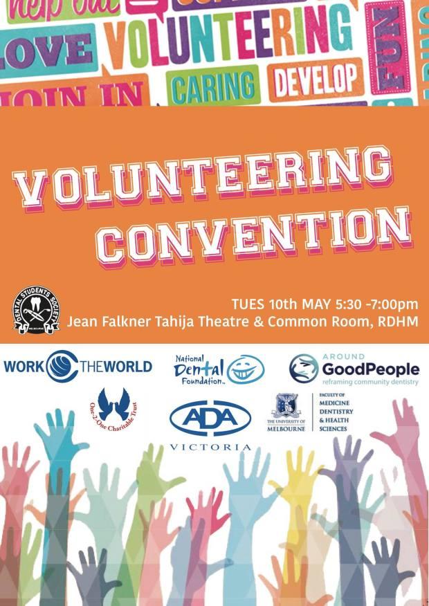 volunteering convention